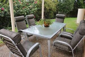 6 Seater Quality Outdoor Setting Waterford Logan Area Preview