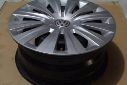 3 Original Steel Wheel Cap Volkswagen Golf Mk 7