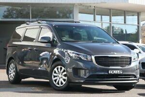 2016 Kia Carnival YP MY16 Update S Grey 6 Speed Automatic Wagon