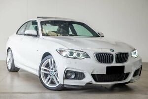 2017 BMW 2 Series F22 220i M Sport White 8 Speed Sports Automatic Coupe