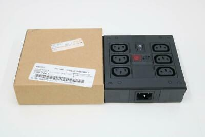 Bulgin Pxd7010061101 6 Way Iec Inlet Power Distribution Box