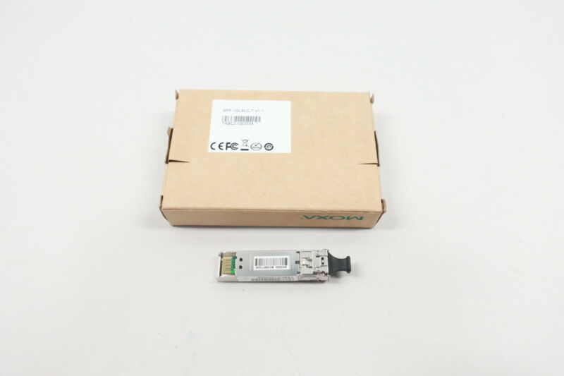 Moxa SFP-1GLXLC-T Single-mode Module 1.25gbps 1310nm