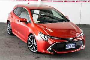 2018 Toyota Corolla Mzea12R ZR Volcanic Red 10 Speed Constant Variable Hatchback Myaree Melville Area Preview