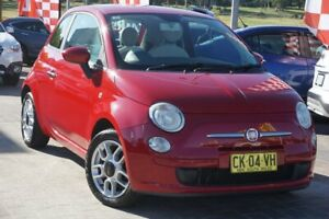 2008 Fiat 500 Series 1 POP Red 5 Speed Manual Hatchback Pearce Woden Valley Preview