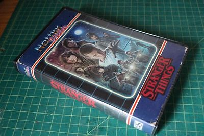 Stranger Things custom VHS clamshell horror big BOX ONLY Netflix decoration (Netflix Halloween Movie)