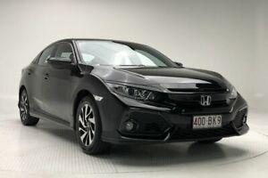 2017 Honda Civic 10th Gen MY17 VTi-S Black 1 Speed Constant Variable Hatchback