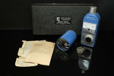 Edmont-wilson Model 60-540 Sound Level Meter And Calibration Kit