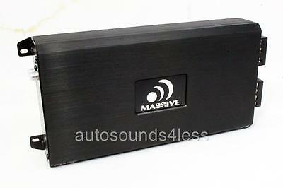 NEW Massive Audio E3 Edge Series 2800 Watt Monoblock Subwoofer Amplifier