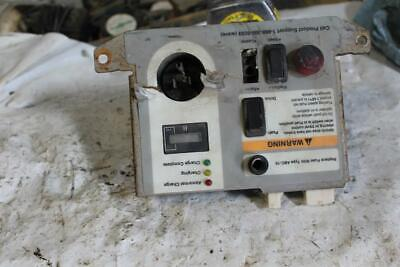 Crown Wave 50-84 Hour Meter Switches Panel  Man Lift