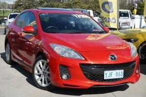 2012 Mazda 3 BL10L2 SP25 Red 6 Speed Manual Sedan Phillip Woden Valley Preview