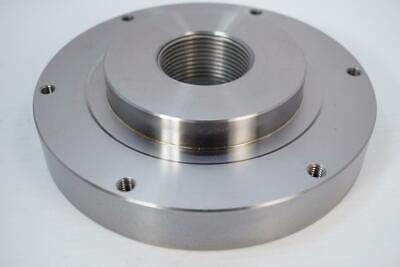 New Pratt Burnerd 8 Setrite Chuck Adapter Plate. 2-14 X 8 Tpi Back. 0805043