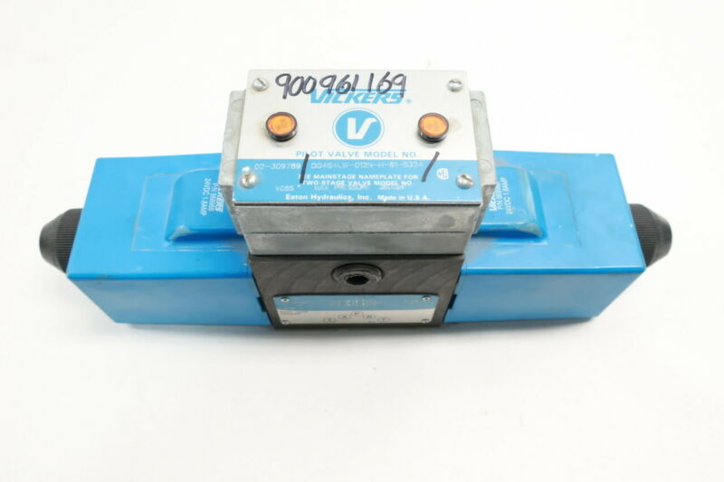 Vickers DG4S4LW-012N-H-61-S324 Directional Control Valve 3600psi 24v-dc