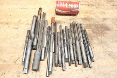 Lot Of 20 Vintage Reamer Machinist Tools Bits