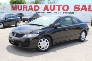 2009 Honda Civic Cpe !!! 167,000 KMS !!! MANUAL !!!