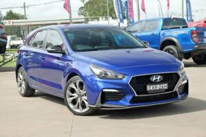 2019 Hyundai i30 PD.3 MY20 N Line D-CT Blue 7 Speed Sports Automatic Dual Clutch Hatchback McGraths Hill Hawkesbury Area Preview