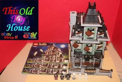 LEGO MONSTER FIGHTERS 10228 HAUNTED HOUSE complete w/ INSTRCTNS MINIFIGS no Box
