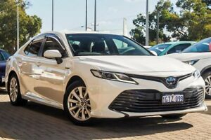 2019 Toyota Camry AXVH71R Ascent White 6 Speed Constant Variable Sedan Hybrid Morley Bayswater Area Preview