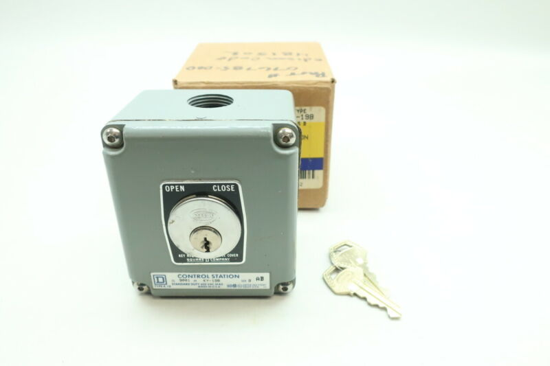 Square D 9001 KY-198 Security Control Station