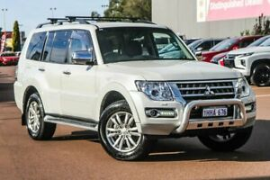 2020 Mitsubishi Pajero NX MY20 GLS White 5 Speed Sports Automatic Wagon Cannington Canning Area Preview