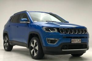 2018 Jeep Compass M6 MY18 Limited Blue 9 Speed Automatic Wagon