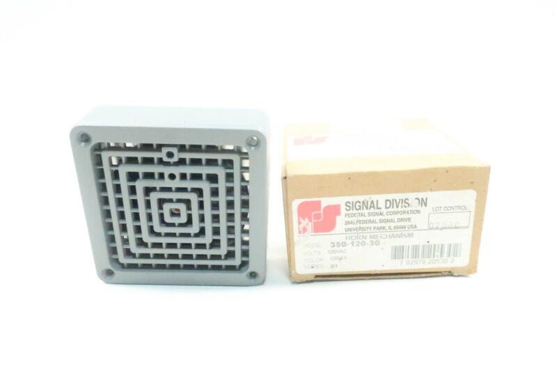 Federal Signal 350-120-30 Horn Mechanism 120v-ac