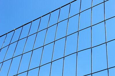 8 X 100 Welded Wire 14ga - 2 X 4 Galvanized Fence Mesh - Deer Fencing