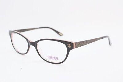 ESSENCE Abbey eyeglasses Frame Top Dark Brown WOMEN 54mm Designer (Top Eyeglass Designers)