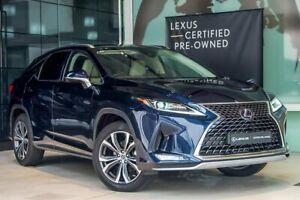 2020 Lexus RX GYL25R RX450h Luxury Blue 6 Speed Constant Variable Wagon Hybrid