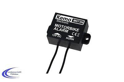 Kemo M073N Bewegungsschalter - Motorrad / Mofa Alarm - Erschütterungssensor