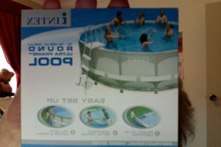 Clarke above ground swimming Pool. Complete Ingleburn Campbelltown Area Preview