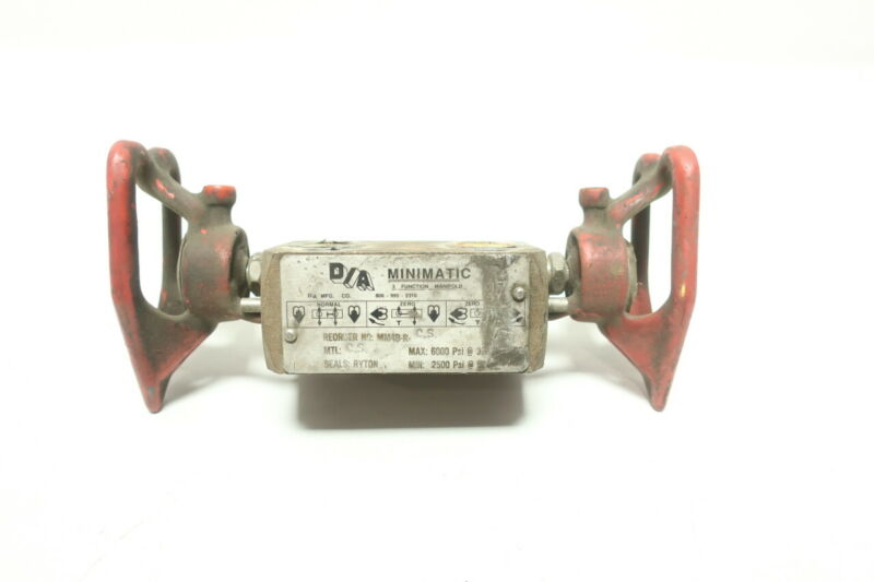 D/a MM4B-R-CS Minimatic Valve Manifold 1/2in Npt 6000psi