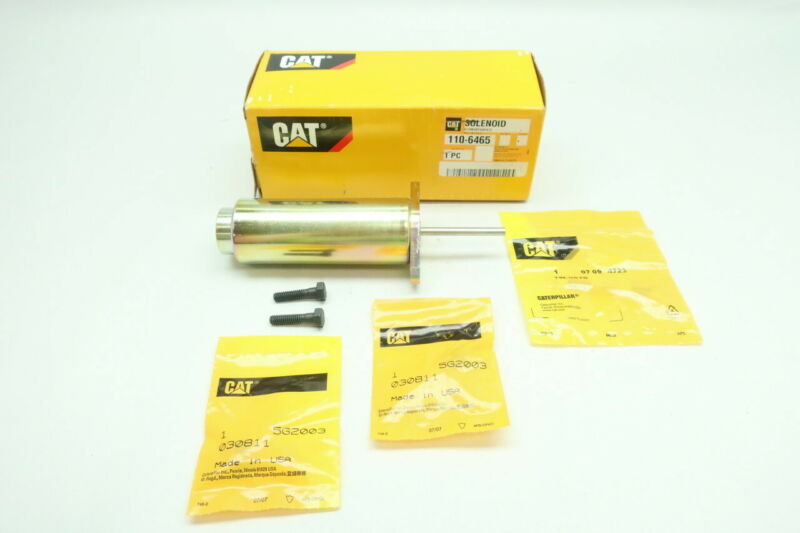Caterpillar Cat 110-6465 Shut-off Solenoid 24v-dc