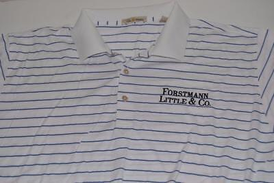 VIJAY SINGH TOUR ISSUE GOLF POLO SHIRT PETER MILLAR FORSTMAN LITTLE & CO SINGHA for sale  Shipping to India