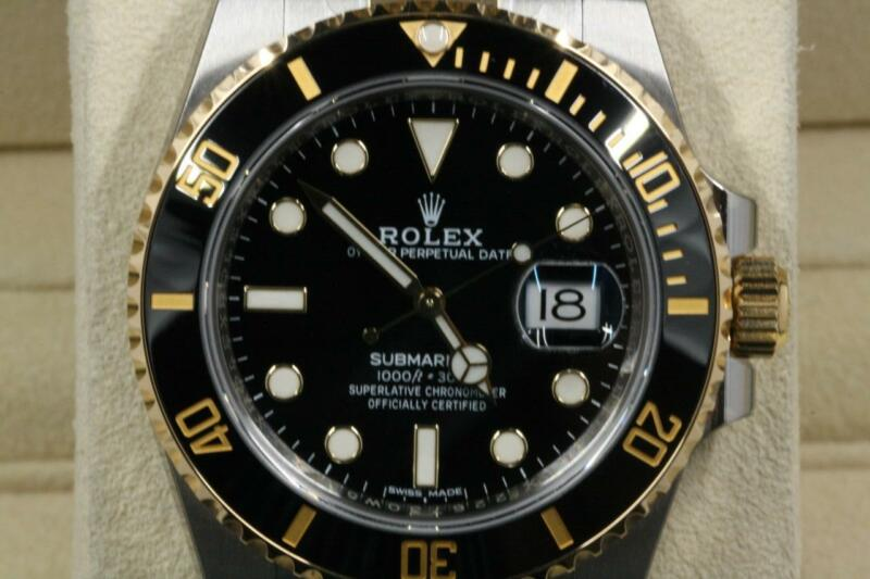 Unused Rolex Submariner-date 116613 Black Dial With Box & Papers 2018 Model