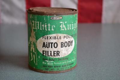 (Vintage Body Filler White Knight Flexible Polyester Body Filler)