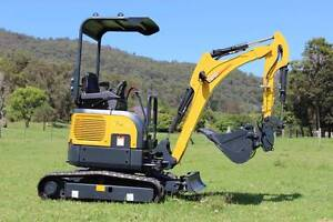 Carter CT16 1700kg Mini Excavator On Sale New Gold Coast Molendinar Gold Coast City Preview