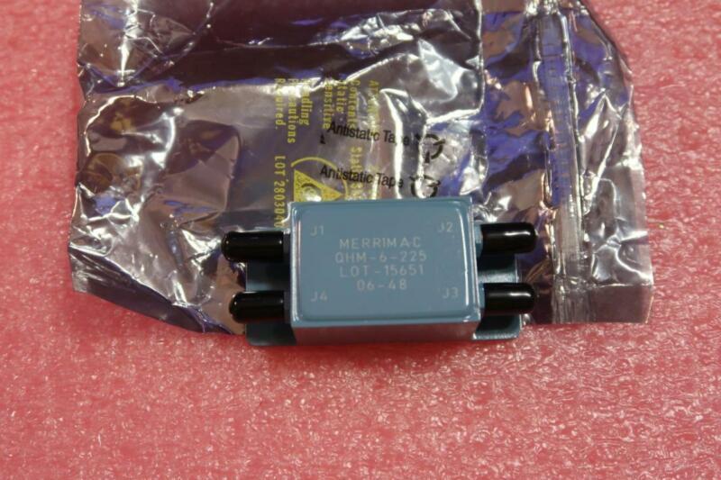 Merrimac QHM-6-225 Power Divider  SMA  50-400 MHz