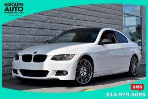 2007 BMW 3 Series *COUPE*MANUELLE*BLANC*CUIR ROUGE*M PACKAGE*