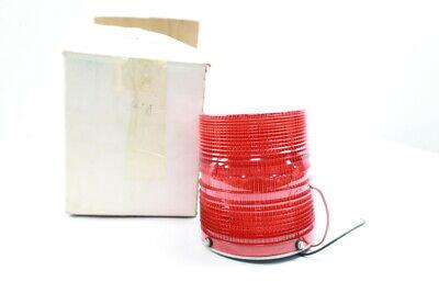 Star Warning Systems 240cd Red Strobe Light 12-48v-dc