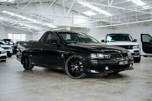 2002 Holden Ute VU II SS Black 6 Speed Manual Utility Moorabbin Kingston Area Preview