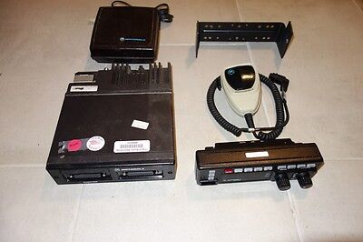 Motorola Astro Spectra Police 2-way Radio W4 Ham T99dx 130w Astro 800 Mhz