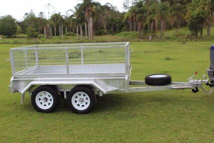 New Box Trailer Tandem Axle 8x5 Ozzi Delivery AU