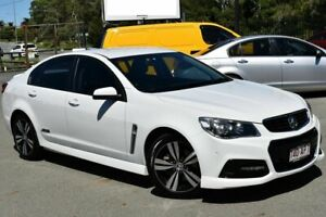 2015 Holden Commodore VF MY15 SS White 6 Speed Automatic Sedan Underwood Logan Area Preview