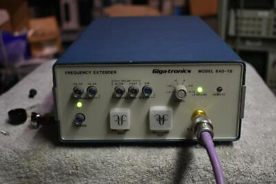 Gigatronics 840-18 Frequency Extender 18 To 40 Ghz Out With 8.6-13.4 Ghz In