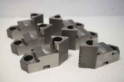 New Kcm Usa Hard Top Jaw Set For 6 6 Jaw Buck At Style Lathe Chuck