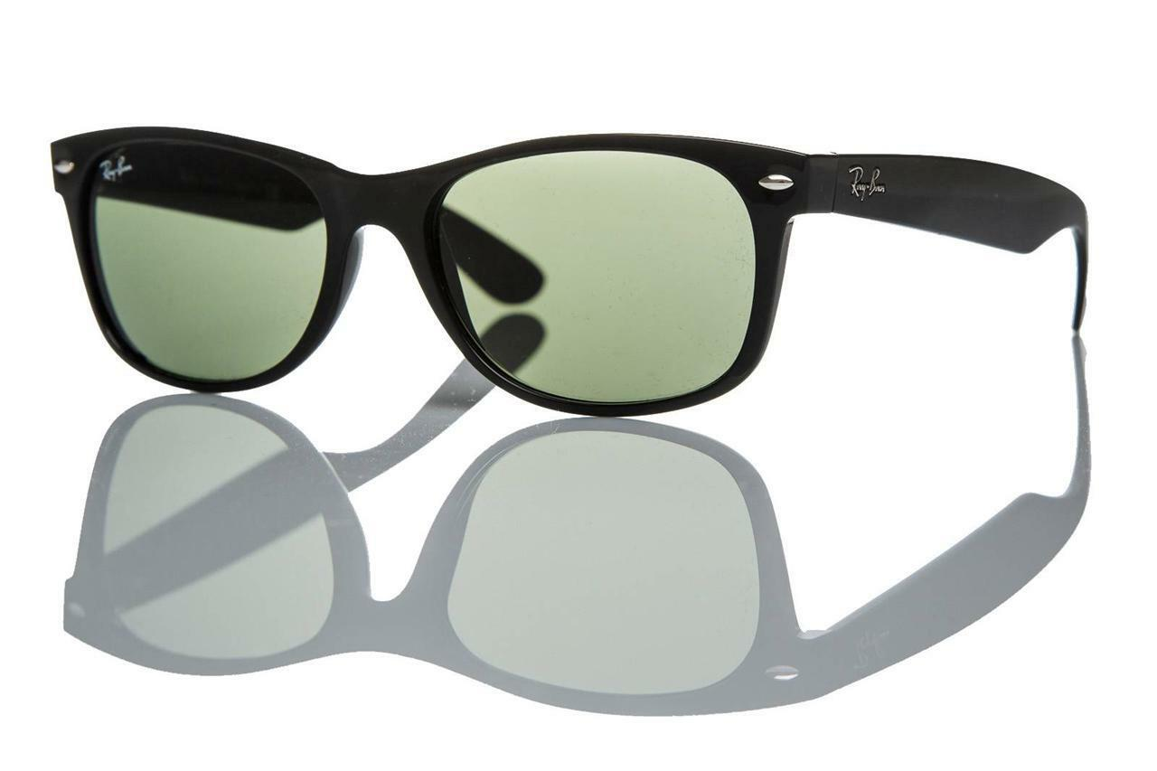 75b677f62e8 Details about New Authentic Ray-Ban Sunglasses RB 2132 901L 55mm Black  Crystal Grey Green