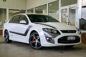 2011 Ford Performance Vehicles GT FG Boss 335 White 6 Speed Sports Automatic Sedan