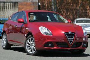 2013 Alfa Romeo Giulietta Series 0 MY13 Distinctive TCT Red 6 Speed Sports Automatic Dual Clutch
