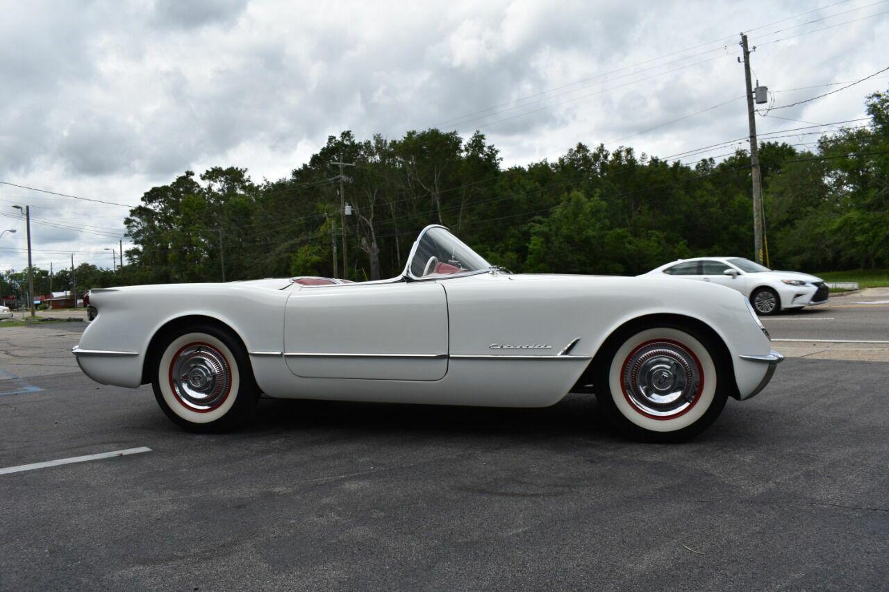 1954 White Chevrolet Corvette   | C1 Corvette Photo 10