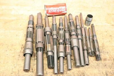 Lot Of 12 Vintage Adjustable L.o. Beard Reamer 1116 - 1-2532 Machinist Tools
